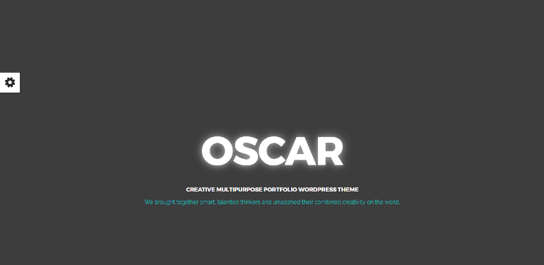 oscar wordpress theme
