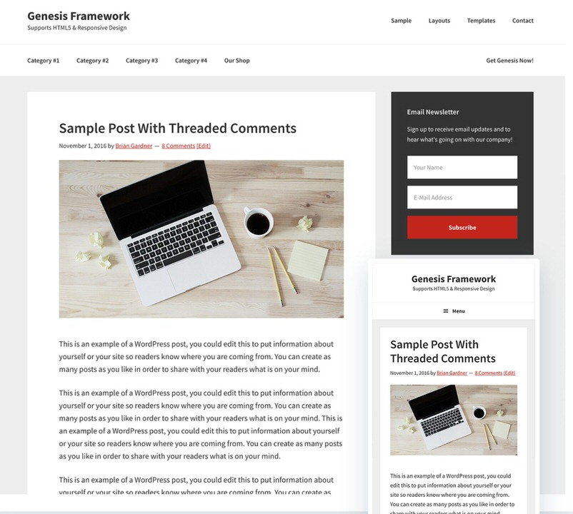 Best WordPress Themes For Podcasts - Fresh podcast website template scheme