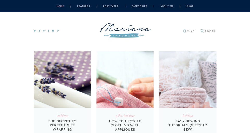 11 Best WordPress Themes For DIY Crafters (Blogs and Ecommerce)