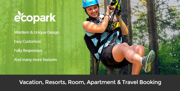 Ecopark - WordPress Theme for Tour, Vacation, Travel & Resort