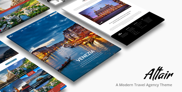 Tour Travel Agency | Altair Theme