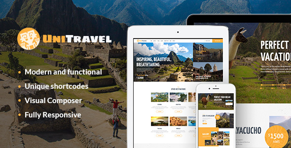 UniTravel | Travel Agency & Tourism Bureau Theme