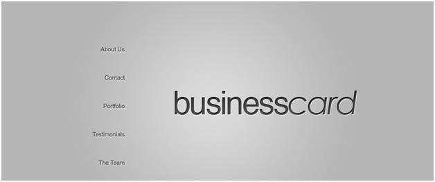 BusinessCard WordPress Theme by Elegant Themes