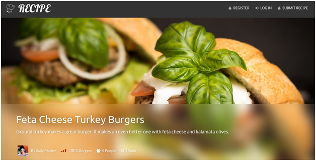 Recipe – WP Theme for Recipes