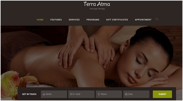 Terra Atma Spa & Massage WordPress Theme