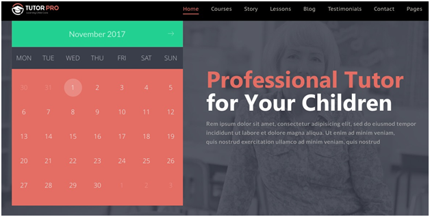 TutorPro Education WordPress Theme