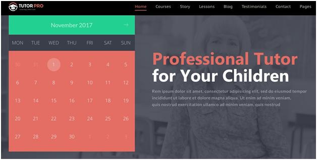 TutorPro Education WordPress Theme