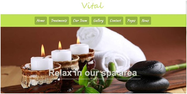 Vital Beauty & Spa WordPress Theme