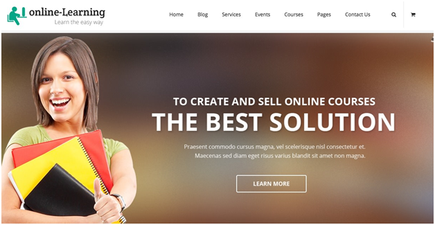 iknow - learning management system wp theme free download