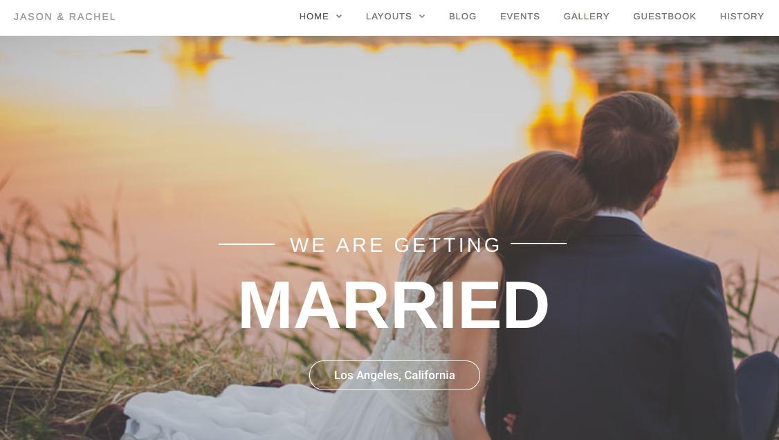 Qaween: Wedding WordPress Theme