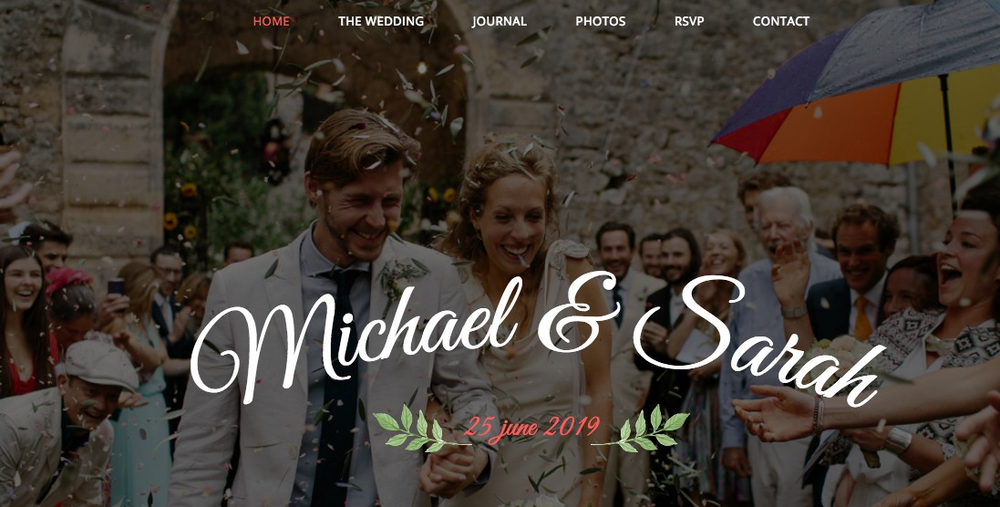 Responsive Wedding WordPress Theme