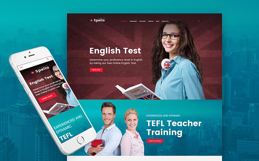 Language School WP Theme