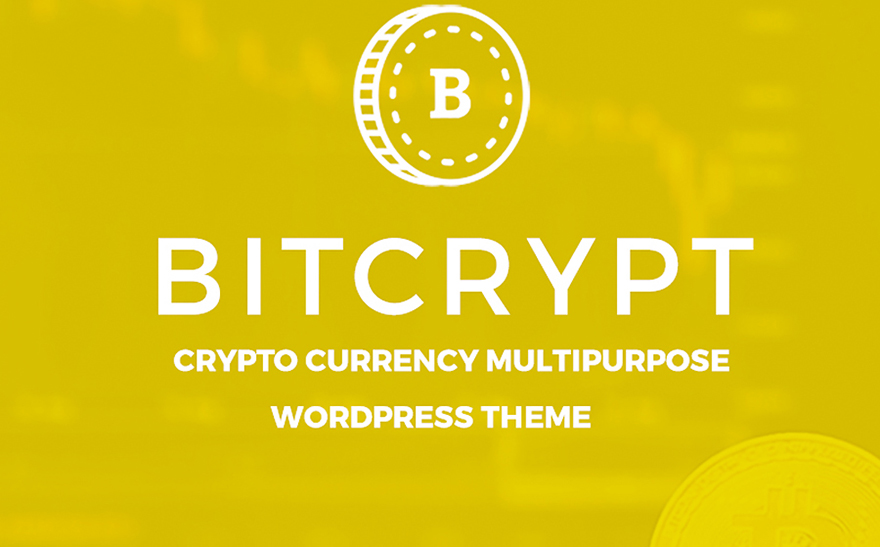 Bitcrypt - Bitcoin and Cryptocurrency WordPress Theme