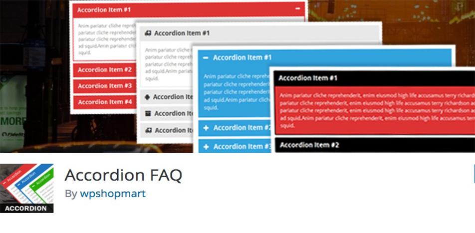 Accordion FAQ