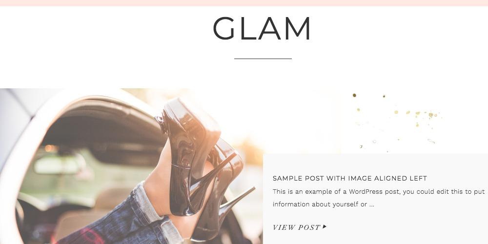 Glam Pro Theme