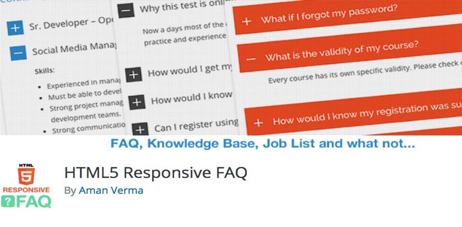 HTML5 Responsive