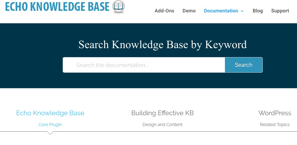 Knowledge Base for Documents