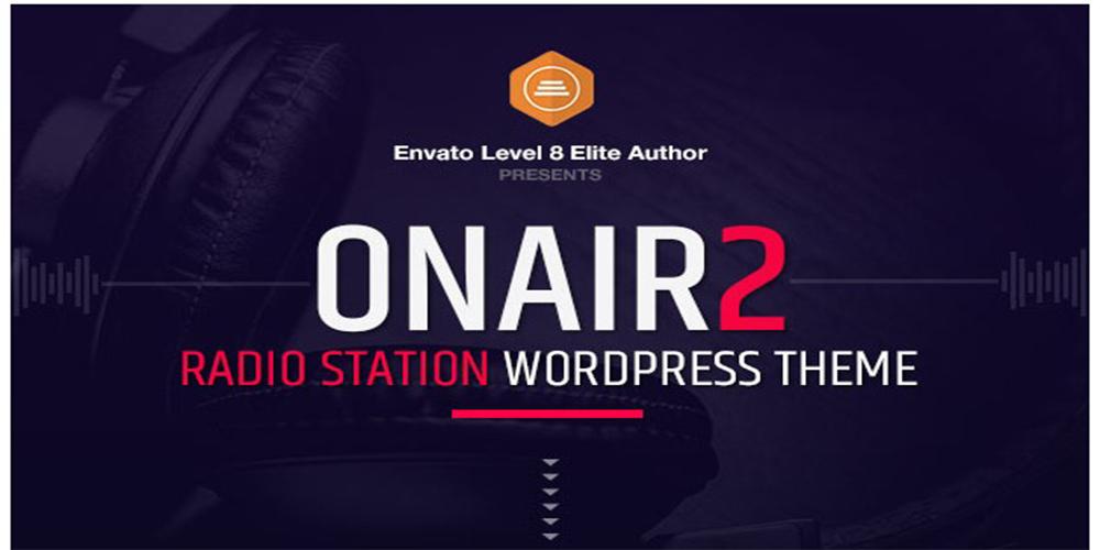 Onair2 Radio Station WordPress Theme
