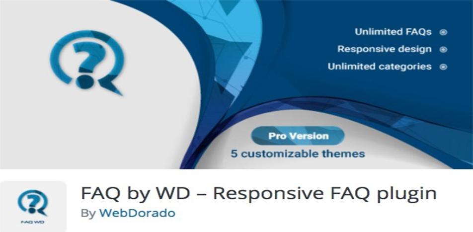 Responsive FAQ Plugin