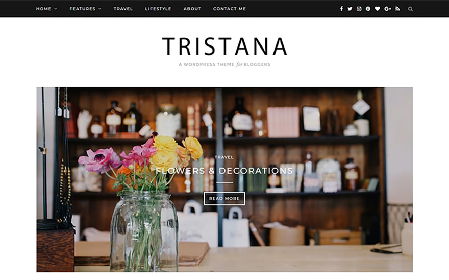 Tristana - Blog Responsive WordPress Theme