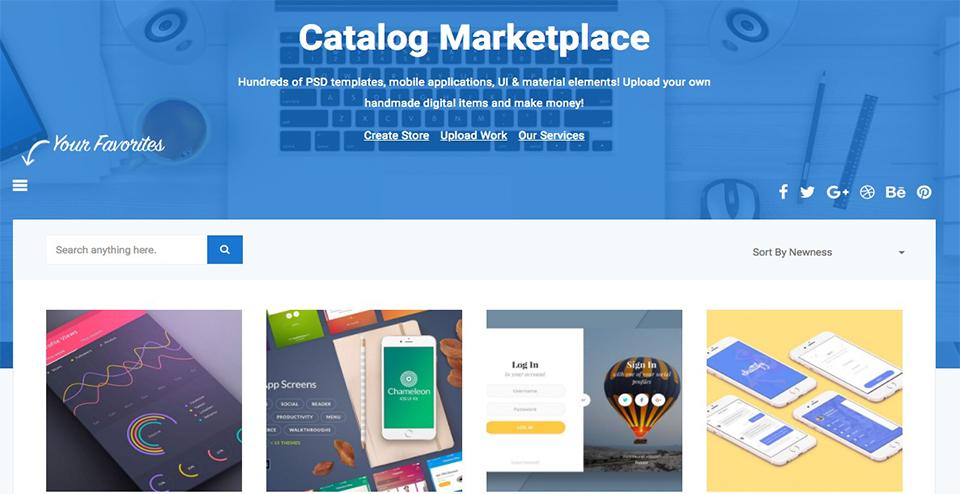 Catalog WordPress Theme