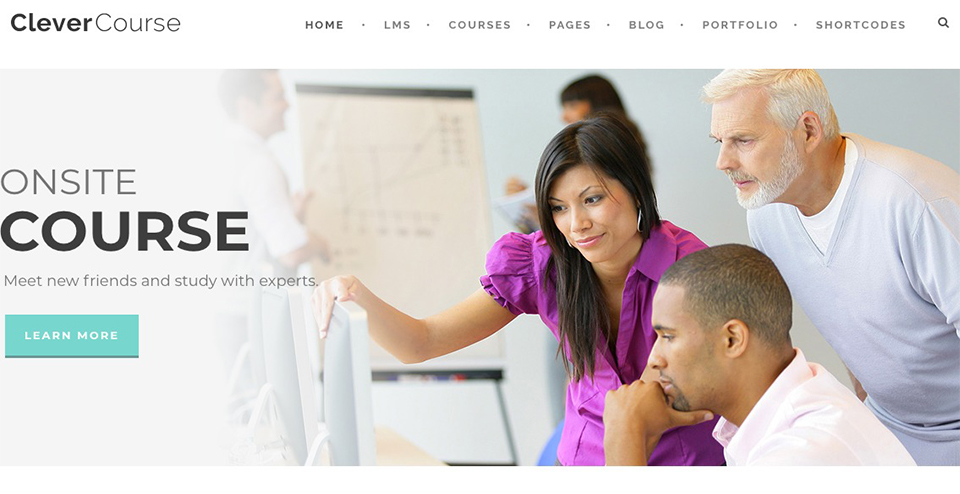 Clever Course - Learning Management System