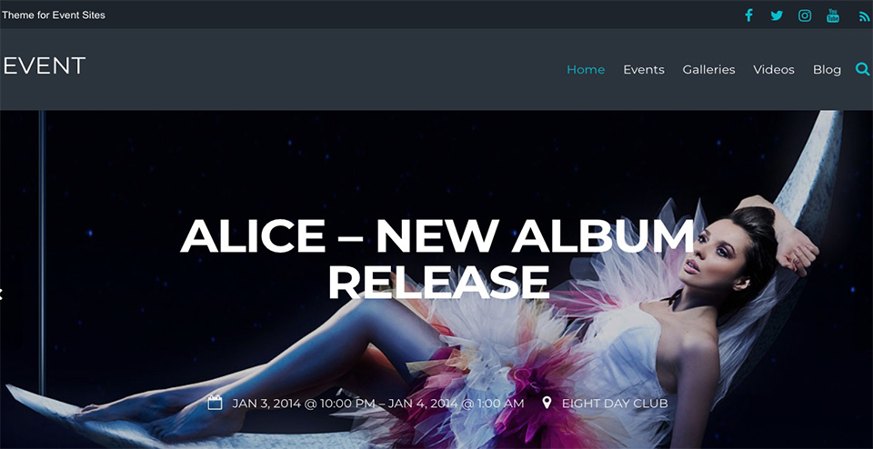 Event - Responsive Theme For Bands