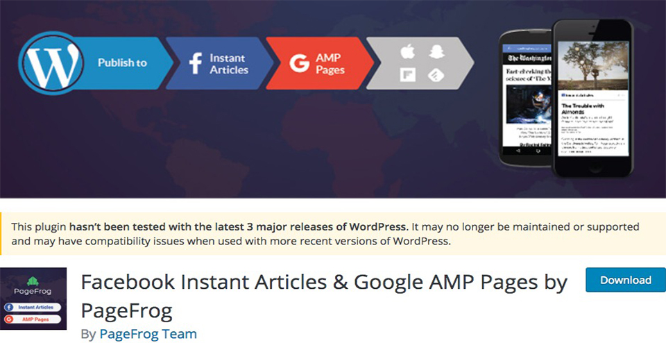 Facebook Instant Articles & Google AMP Pages