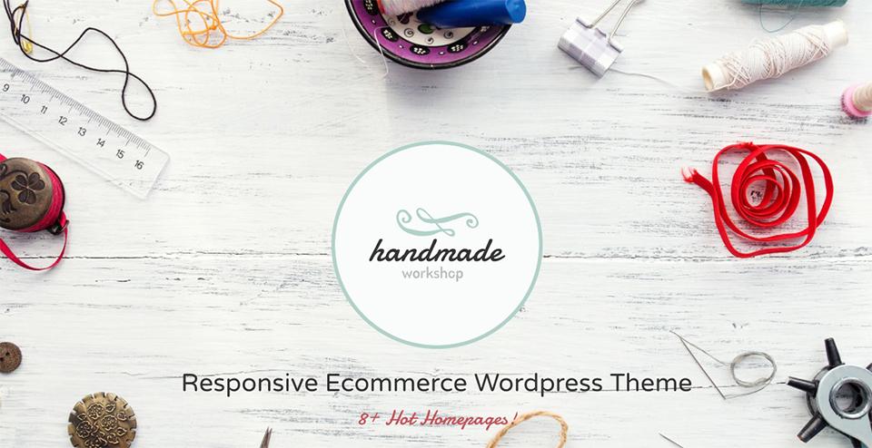 HandMade - Shop WordPress Theme