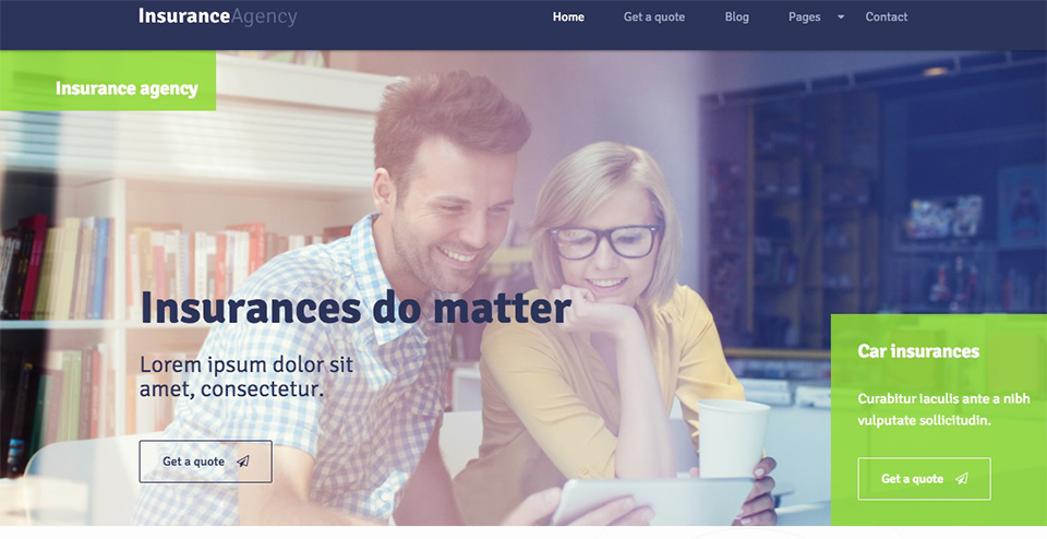 11 Best WordPress Themes for Insurance Agents [2018]