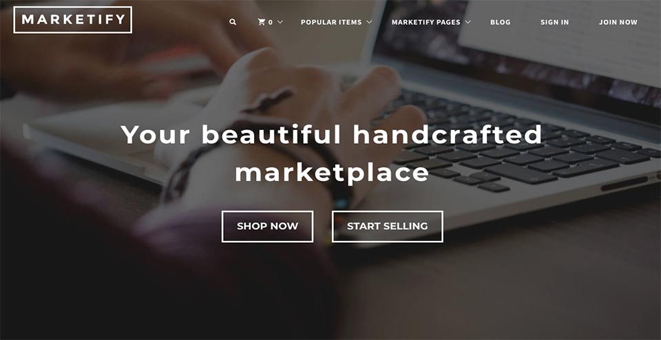 Marketify - WordPress Theme