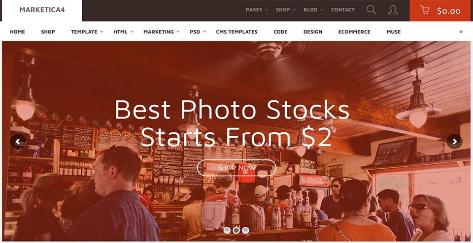 Merketica - eCommerce WordPress Theme
