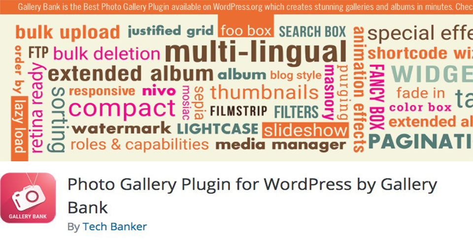 Photo Gallery Plugin for WordPress