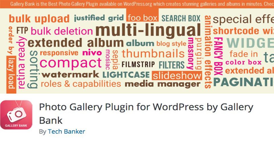 Photo Gallery Plugin for WordPress