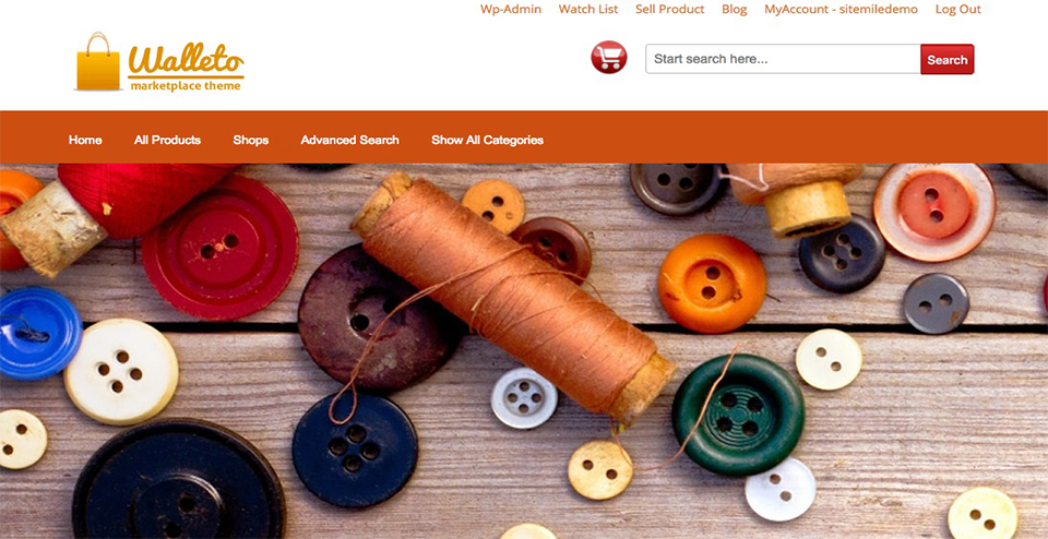 Walleto WordPress Marketplace Ecommerce Theme