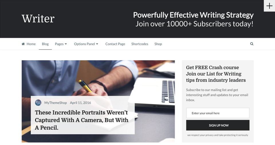 10 Best WordPress Themes for Long-Form Writing [2018] | EGrappler