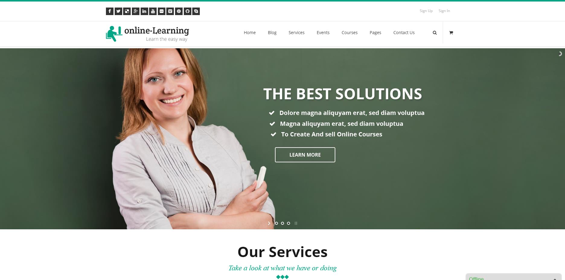 A fantastic, all-rounded WordPress theme, iKnow is a fully equipped learning management system that makes it easy for you to update new courses and put ...