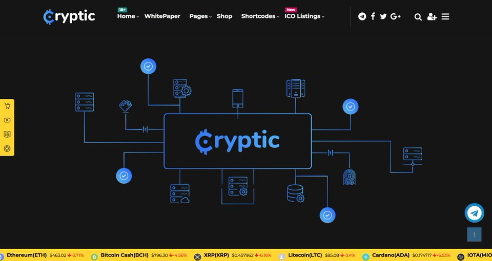 10 Best WordPress Themes for Cryptocurrency and BitCoin [2019