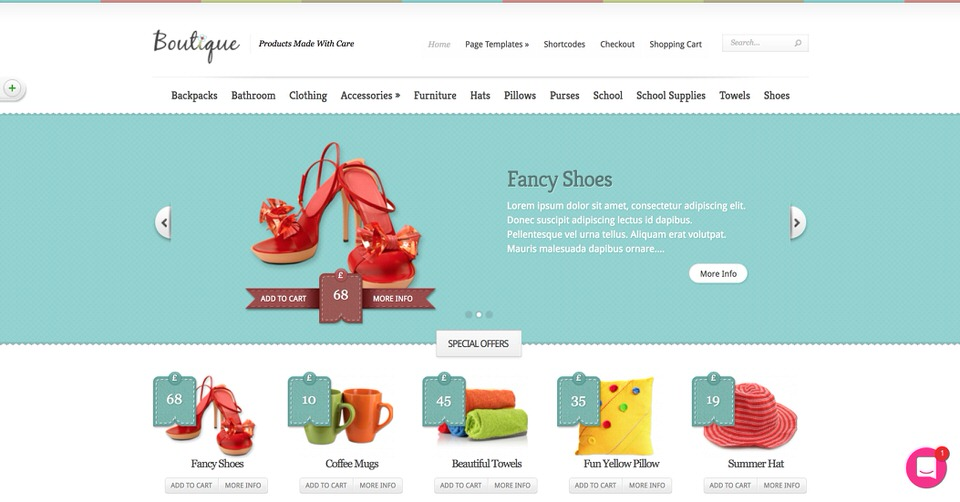 d3b16f1041 Few themes are as good-looking or as responsive as Boutique. Boutique is  made by some of the best authors on the WordPress platform and can be  customized ...