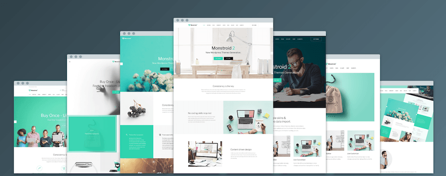 Monstroid2 7 homepages