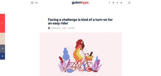 100% Gutenberg WordPress theme