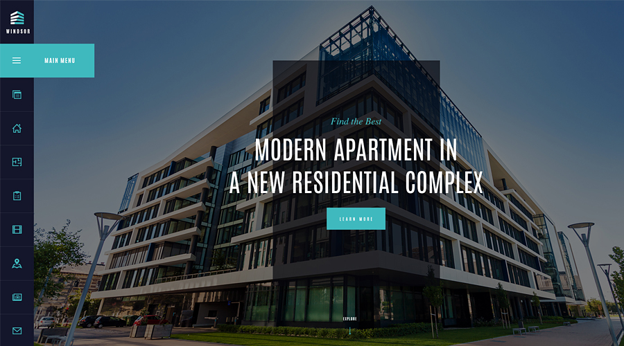 Windsor - Apartment Complex / Single Property WordPress Theme