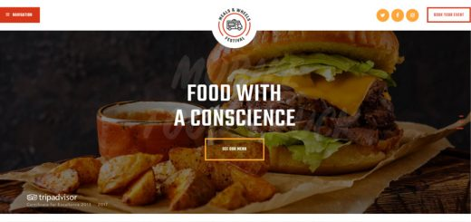 Meals & Wheels Street Food Festival WordPress theme