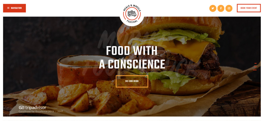Meals&Wheels - Street Food Festival & Fast Food WordPress Theme