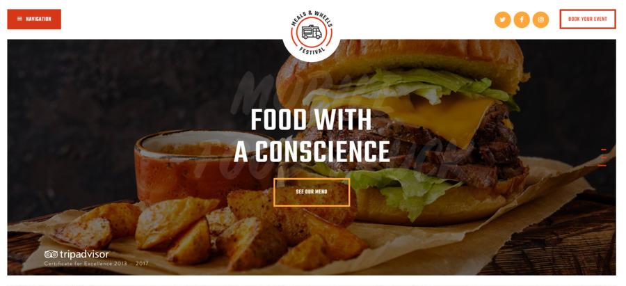 Meals&Wheels - Street Food Festival & Fast Food WordPress Theme