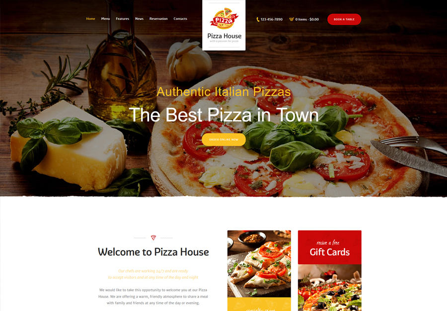 Zio Alberto | A Restaurant Cafe Bistro WordPress Theme