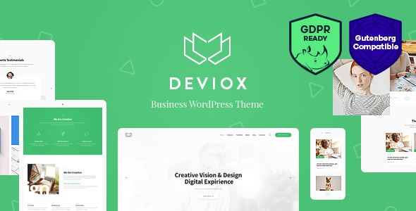 Deviox | A Trendy Multi-Purpose Business WordPress Theme