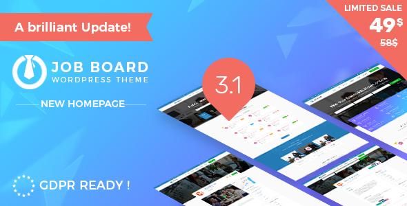 Job Board WordPress Theme - InJob