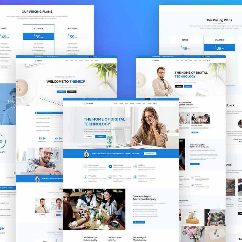 Themexp - Corporate Responsive WordPress Theme