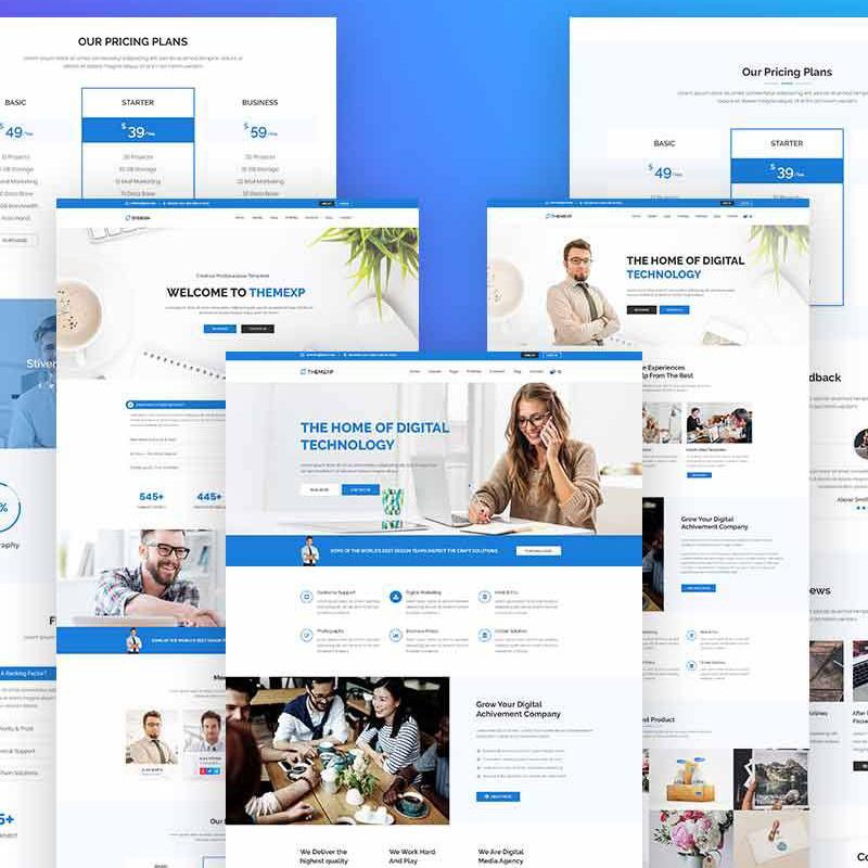 Themexp - Corporate Responsive WordPress Theme